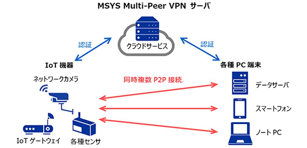 安全な通信環境の構築を容易にする、VPNサービスの提供を開始‐MSYS&DNP