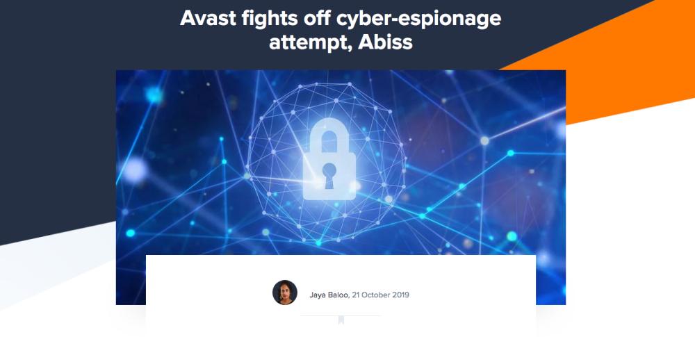 Avast社を狙った不正アクセスが確認される、サプライチェーン攻撃が目的か